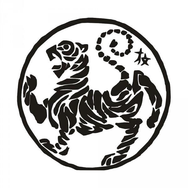 Aufkleber Shotokan Tiger