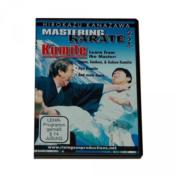 "DVD Kanazawa Mastering Karate Vol. 7 ""Kumite"""