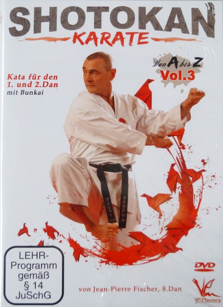 DVD Jean-Pierre Fischer: Shotokan Karate von A-Z, Vol. 3