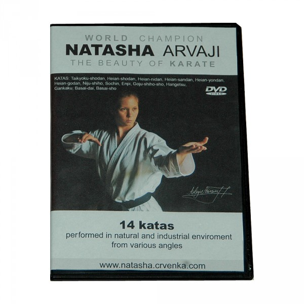 DVD Natasha Arvaji - The Beauty of Karate