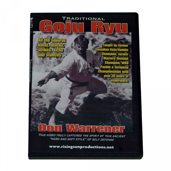 DVD Don Warrener: Traditional Goju Ryu Karate