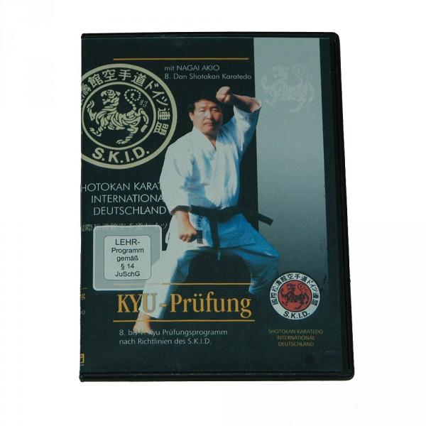 DVD Nagai: Shotokan Karate Kyu-Prüfungen vom 8. bis 1. Kyu