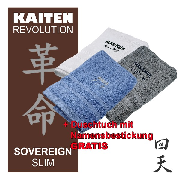 Kaiten REVOLUTION Sovereign SLIM+Duschtuch