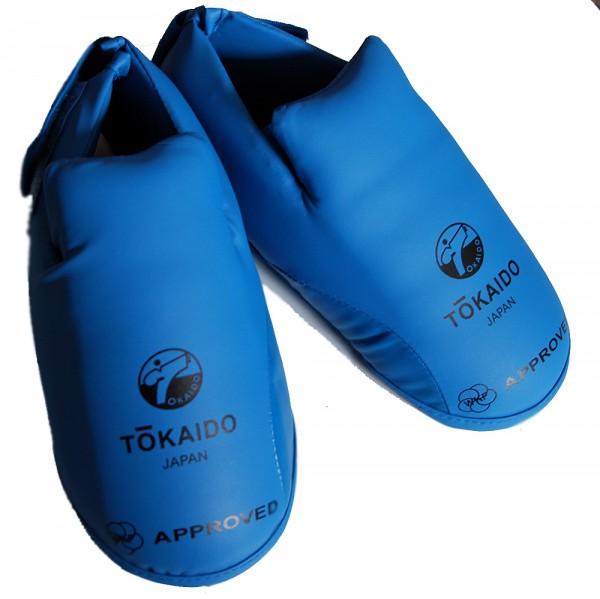 Tokaido WKF - Fußschützer rot oder blau