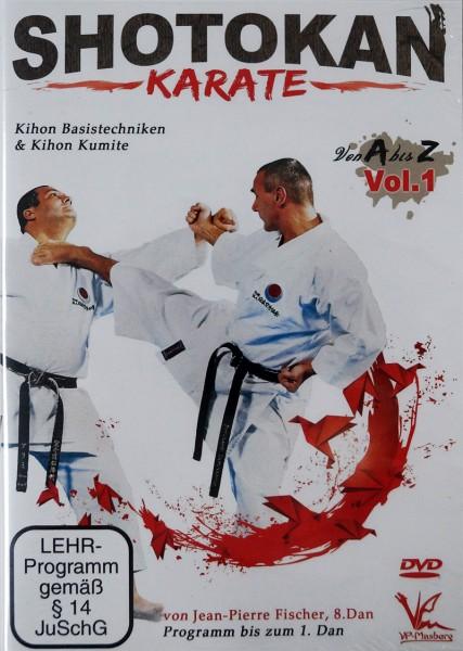 DVD Jean-Pierre Fischer: Shotokan Karate von A-Z, Vol. 1