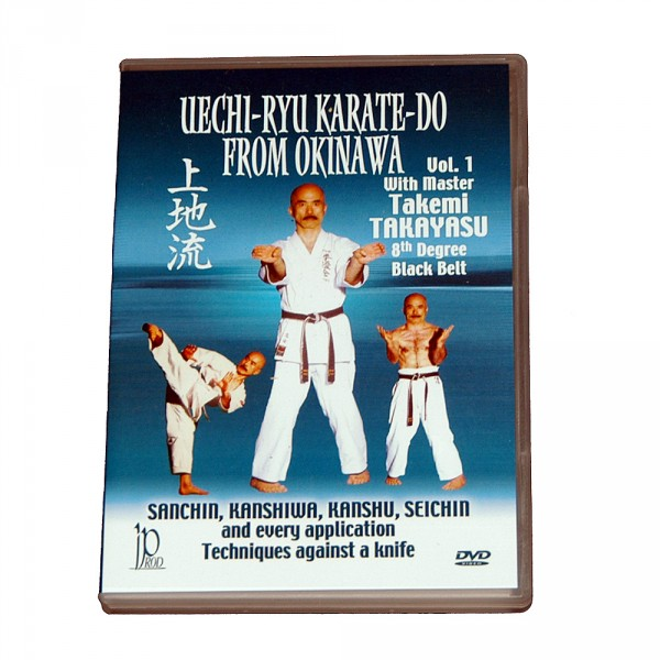 DVD Takayasu Uechi Ryu Karate-Do from Okinawa Vol. 1