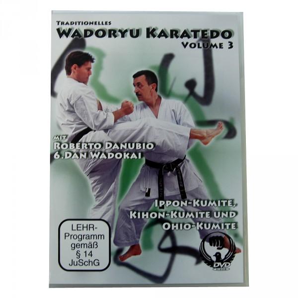 DVD Traditionelles Wadoryu Karatedo Volume 3