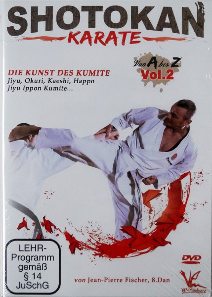 DVD Jean-Pierre Fischer: Shotokan Karate von A-Z, Vol. 2