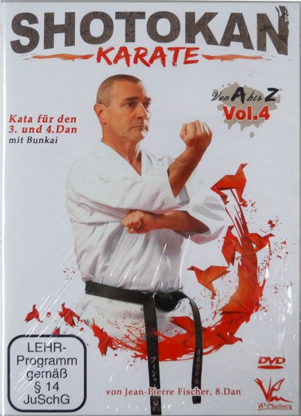 DVD Jean-Pierre Fischer: Shotokan Karate von A-Z, Vol. 4
