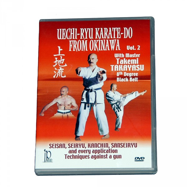 DVD Takayasu Uechi Ryu Karate Do from Okinawa Vol. 2