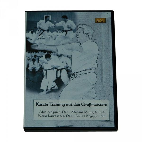 DVD Nagai: Karate Training mit den Großmeistern