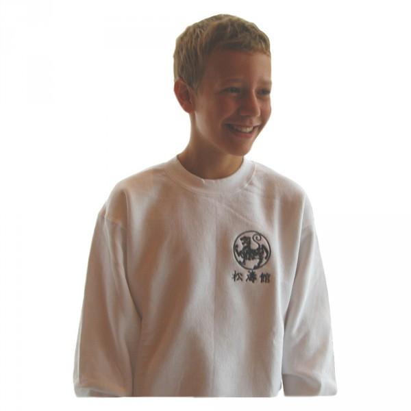 Sweat-Shirt mit Bestickung