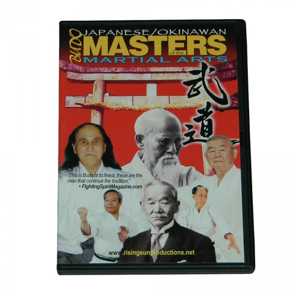 DVD Japanese/Okinawan Masters of the Martial Arts
