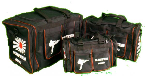 KAITEN Sporttasche schwarz - Retro