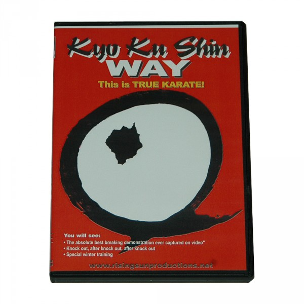 DVD Kyo Ku Shin Way - This is true Karate!