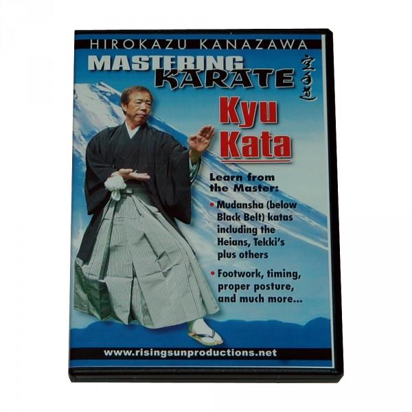 """DVD Kanazawa Mastering Karate Vol. 4 """"Kyu Kata"""""""