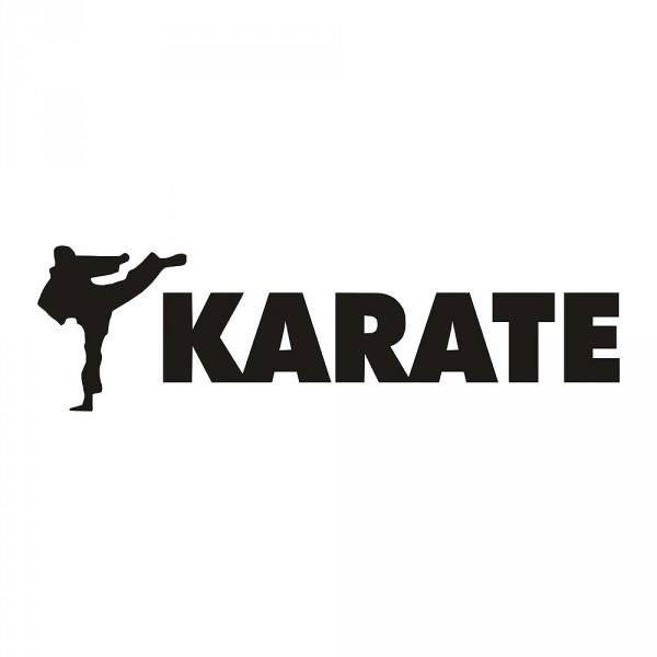Aufkleber Karate 1