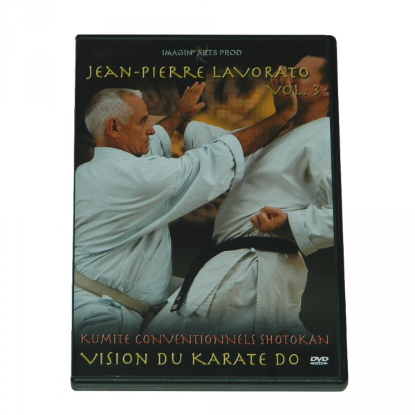 DVD: Jean-Pierre Lavorato, Vision du Karate Do, Vol. 3