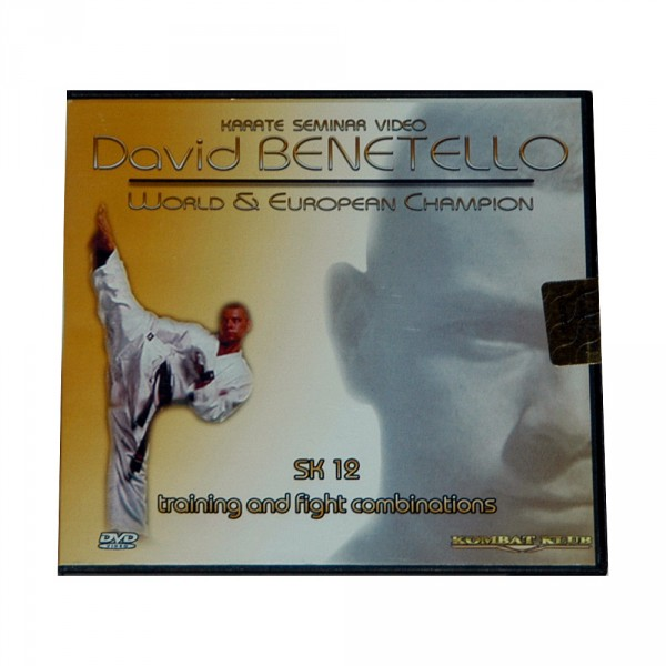 DVD Davide Benetello: Karate Kumite