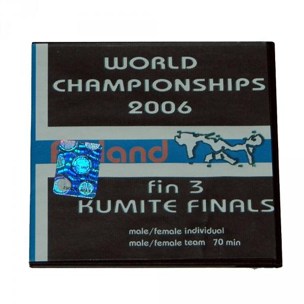 DVD WKF WM Tampere/Finnland 2006, Kumite Finals