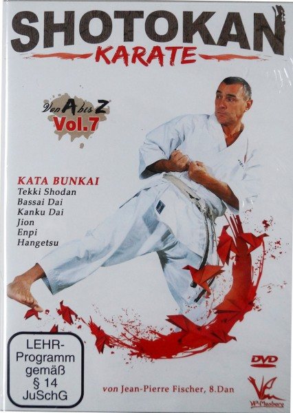 DVD Jean-Pierre Fischer: Shotokan Karate von A-Z, Vol. 7