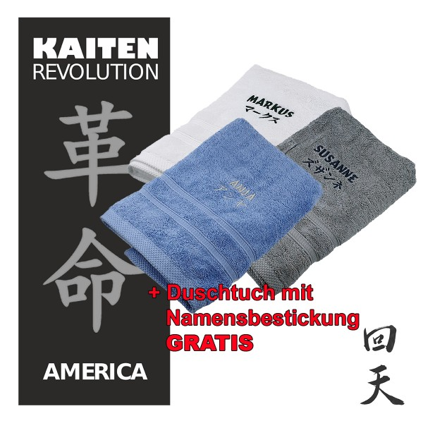 Kaiten REVOLUTION America Regular+Duschtuch