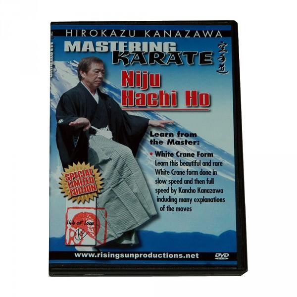 "DVD Kanazawa Mastering Karate Vol. 6 ""Ni Ju Hachi Ho"""