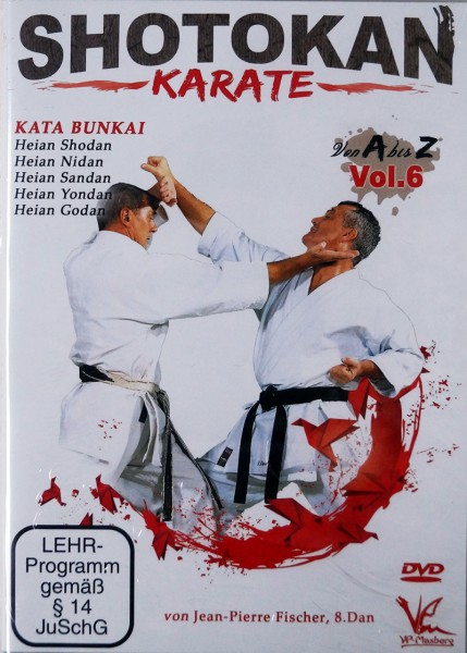 DVD Jean-Pierre Fischer: Shotokan Karate von A-Z, Vol. 6