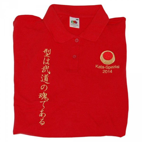 Polo-Shirt 65/35 Rot