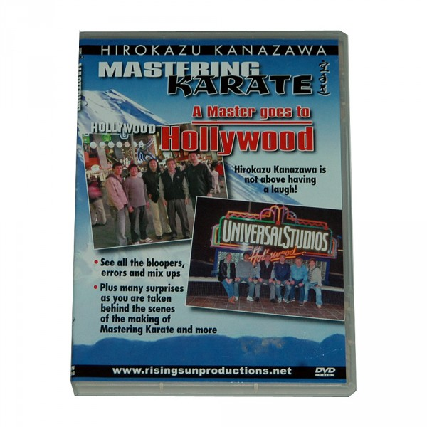 DVD Kanazawa Mastering Karate Vol. 9 A Master goes to Hollywood