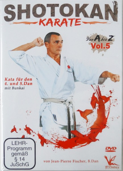 DVD Jean-Pierre Fischer: Shotokan Karate von A-Z, Vol. 5