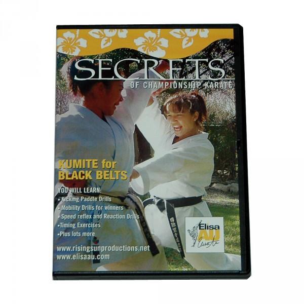 DVD Elisa Au: Kumite for Black Belts