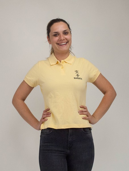 Polo Shirt Lady-Fit bestickt