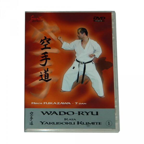 DVD Wado-Ryu Kata & Yakusoku Kumite Vol. 1