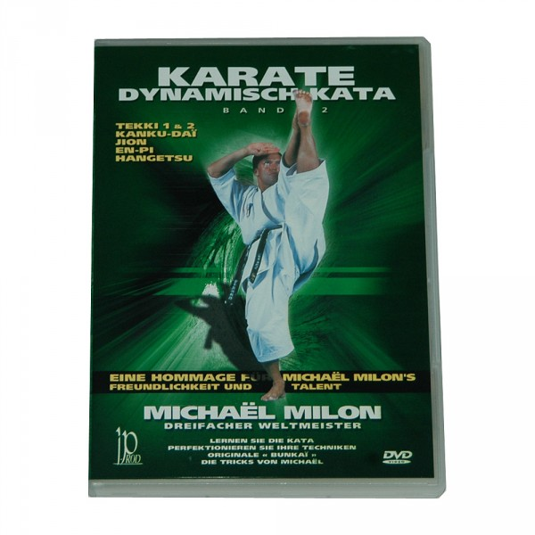DVD Michael Milon: Karate Dynamic Kata Vol. 2