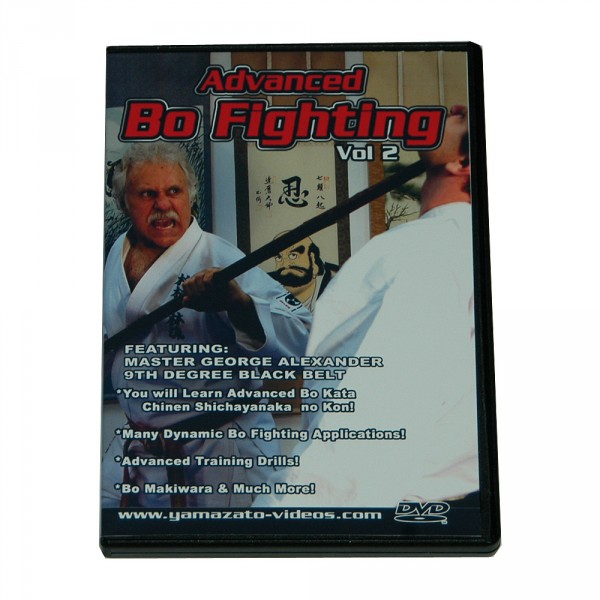 DVD George Alexander Advanced Bo Fighting Vol. 2
